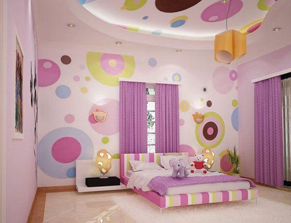 Kız Odası İçin Dekorasyon Fikirleri